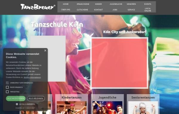 Vorschau von tanzschule-breuer-koeln.de, Tanzschule Breuer GbR