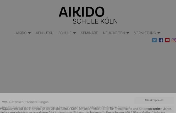 Vorschau von www.aikido-koeln.de, Aikido-Dojo Schule Hans-Jürgen Klages