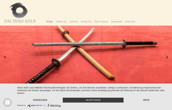 Vorschau von www.das-dojo-koeln.de, Aikido-Kreis Köln