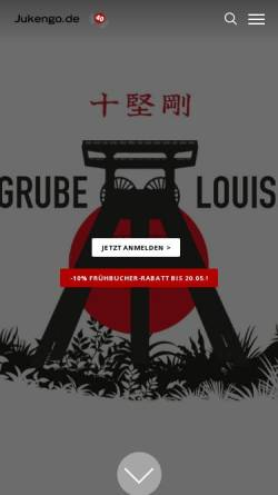 Vorschau der mobilen Webseite www.jukengo.de, Karate Dojo Ju Kengo e.V.