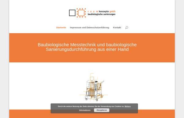 Vorschau von www.raumkonzepte-baubiologie.de, Baubiologische Sanierungen