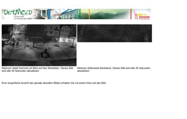 Vorschau von www.webcam-detmold.de, Webcam Detmold