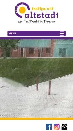 Vorschau der mobilen Webseite www.treffpunkt-altstadt.de, Treffpunkt Altstadt