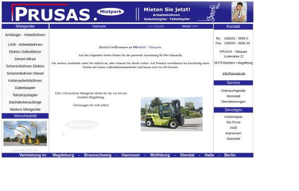 Vorschau von www.annette-prusas.de, Annette Prusas