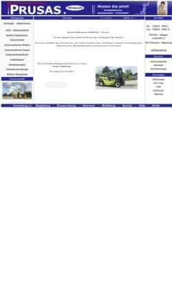 Vorschau der mobilen Webseite www.annette-prusas.de, Annette Prusas