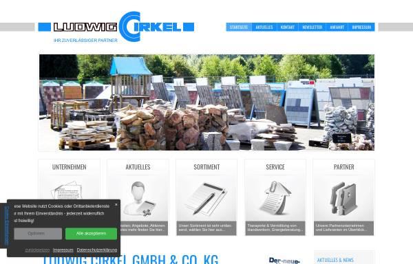 Vorschau von www.cirkel-baustoffe.de, Baustoffe Ludwig Cirkel KG