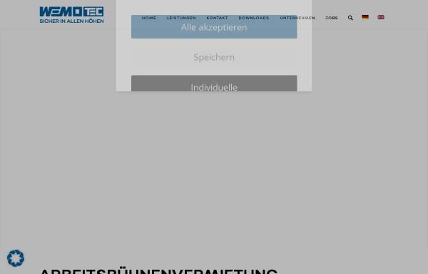 Vorschau von www.steiger-vermietung.de, Arbeitsbühnen Ziegler GmbH & Co. KG