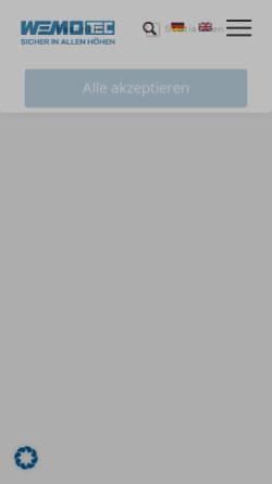 Vorschau der mobilen Webseite www.steiger-vermietung.de, Arbeitsbühnen Ziegler GmbH & Co. KG