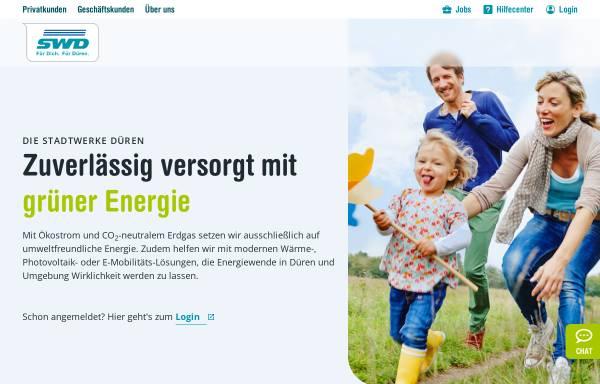 Vorschau von www.stadtwerke-dueren.de, Stadtwerke Düren