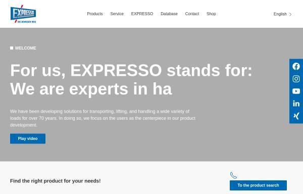Vorschau von www.expresso.de, Expresso Deutschland GmbH