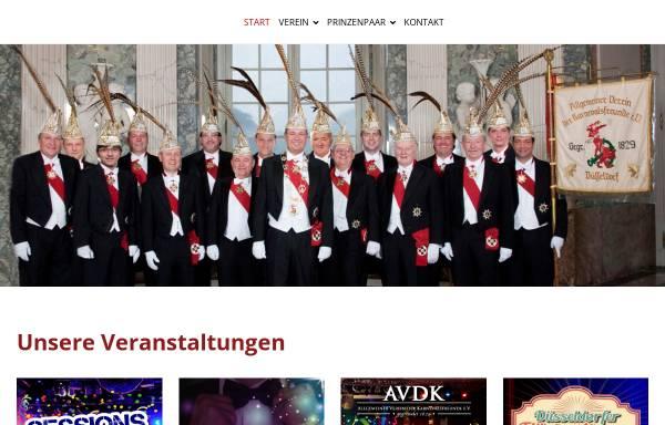 Vorschau von www.avdk-duesseldorf.de, Allgemeiner Verein der Karnevalsfreunde 1829 e.V.