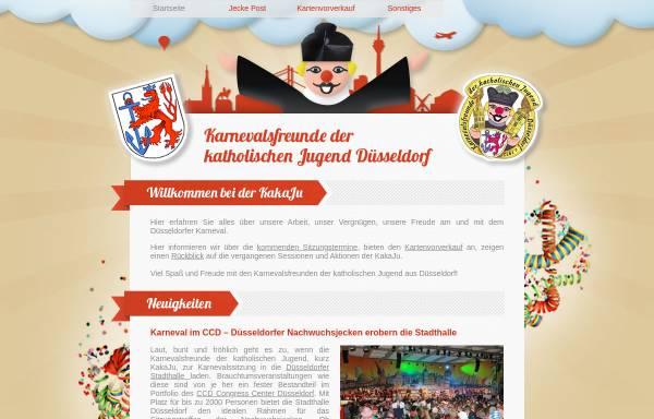 Vorschau von www.kakaju.de, Karnevalsfreunde der katholischen Jugend