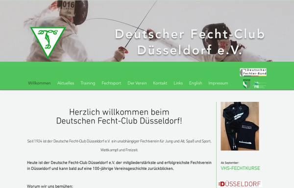 Vorschau von www.dfc-duesseldorf.de, Deutscher Fecht-Club Düsseldorf e.V.
