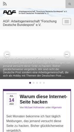 Arbeitsgemeinschaft Forschung Deutsche Bundespost Ev Deutschland