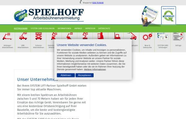 Vorschau von www.spielhoff.de, Spielhoff GmbH