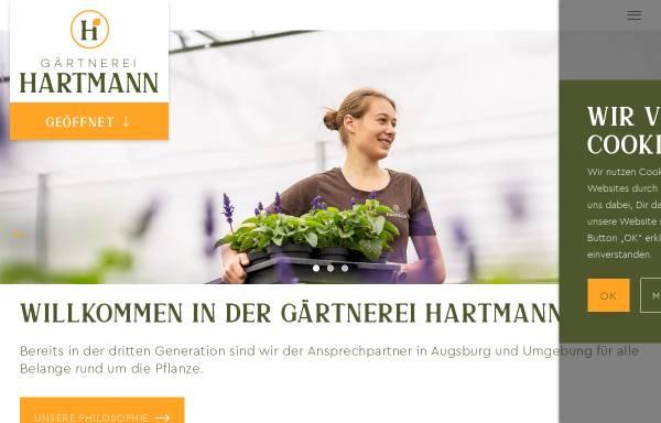 Vorschau von www.gaertnerei-hartmann.de, Gärtnerei Hartmann