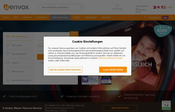 Vorschau von www.aspect-online.de, Aspect Online