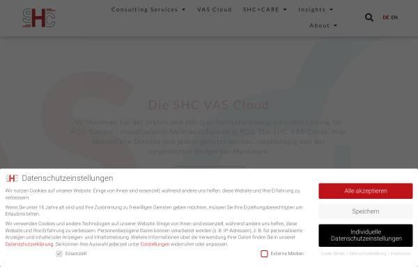 Vorschau von www.stolleundheinz.com, SHC Stolle & Heinz Consultants