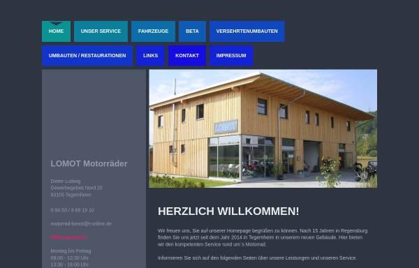 Vorschau von www.lomot.de, Lomot Motorräder