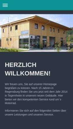 Vorschau der mobilen Webseite www.lomot.de, Lomot Motorräder