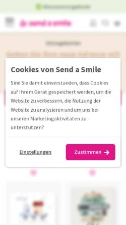 Vorschau der mobilen Webseite www.ruckzuck-umzug.de, Ruck Zuck Umzug