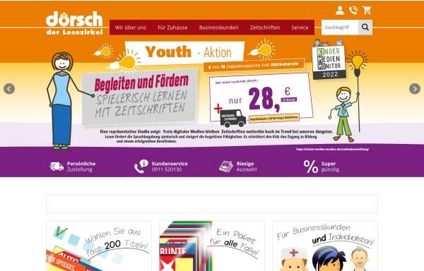Vorschau von www.doersch.de, Lesezirkel Dörsch
