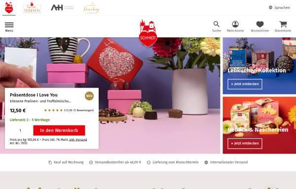 Vorschau von www.lebkuchen-schmidt.com, Lebkuchen-Schmidt GmbH & Co. KG