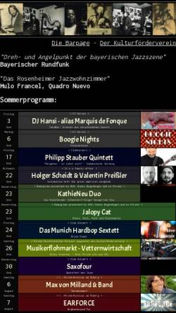 Vorschau der mobilen Webseite www.lepirate-rosenheim.de, Le Pirate