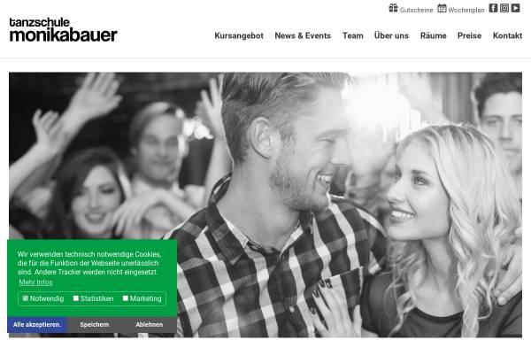 Vorschau von www.monika-bauer.de, Tanz-Center Monika Bauer