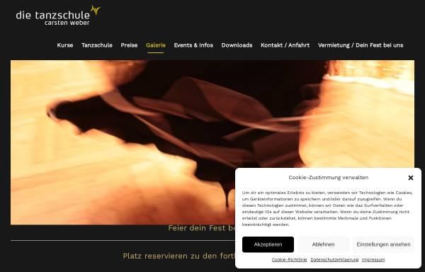 Vorschau von www.die-tanzschule.de, Tanzschule Carsten Weber