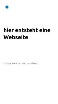 Vorschau der mobilen Webseite www.klauskottwitz.de, Kottwitz, Klaus