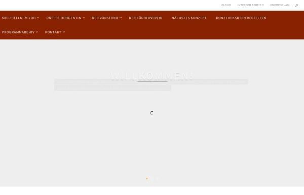Vorschau von junges-orchester-hamburg.de, Junges Orchester Hamburg (JOH)