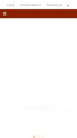 Vorschau der mobilen Webseite junges-orchester-hamburg.de, Junges Orchester Hamburg (JOH)
