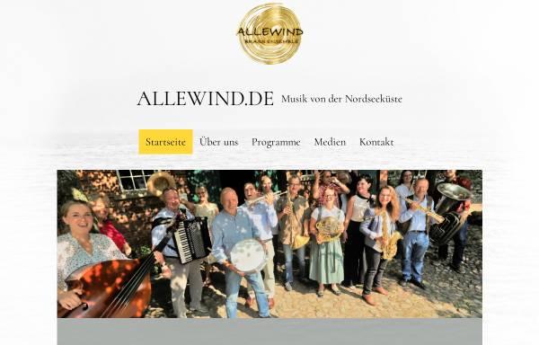 Vorschau von www.allewind.de, Allewind