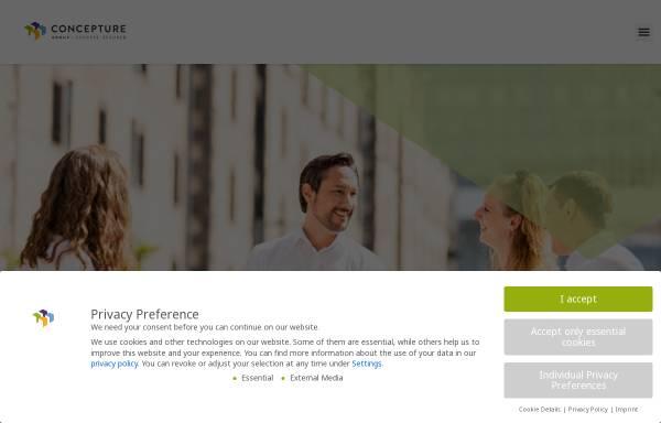 Vorschau von www.concepture.de, Concepture GmbH