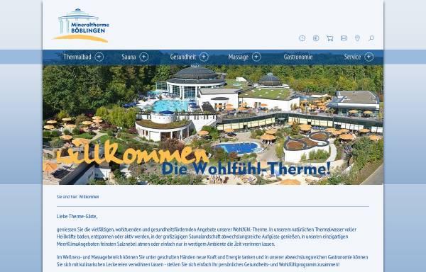 Vorschau von www.mineraltherme-boeblingen.de, Mineraltherme Böblingen