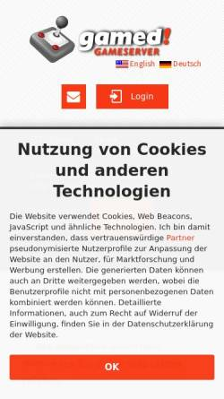Vorschau der mobilen Webseite www.fasnetmusik-nenzingen.de, Fasnetmusik Nenzingen