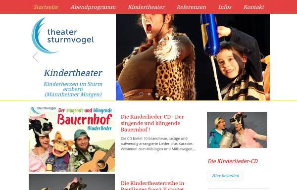 Vorschau von www.theatersturmvogel.de, Theater Sturmvogel