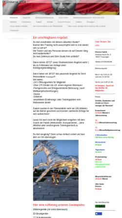 Vorschau der mobilen Webseite dedis-hardcorefabrik.de, Blues Fabrik Trossingen