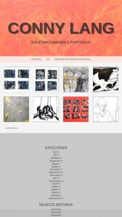 Vorschau der mobilen Webseite www.conny-lang.de, Lang, Conny
