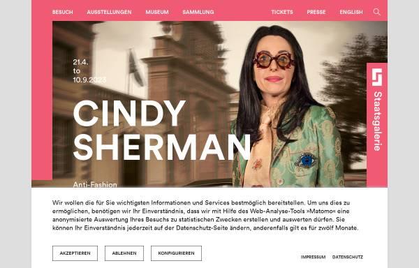 Vorschau von www.staatsgalerie.de, Staatsgalerie Stuttgart