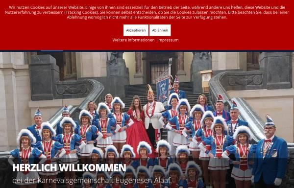Vorschau von www.eugenesenalaaf.de, Karnevalsgemeinschaft Eugenesen Alaaf