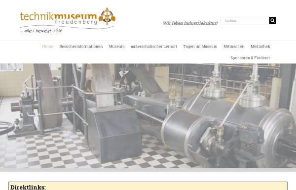 Vorschau von www.technikmuseum-freudenberg.de, Technikmuseum Freudenberg