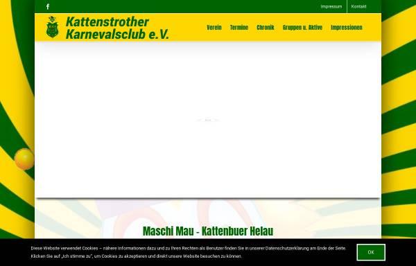 Vorschau von www.kkcgt.de, Kattenstrother Karnevals-Club e.V. (KKC)