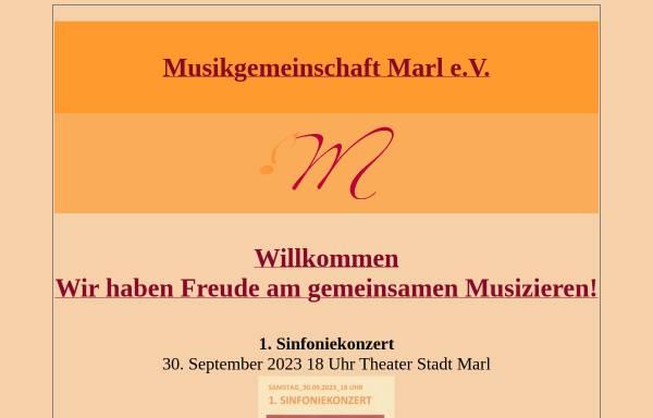 Vorschau von musikgemeinschaft-marl.de, Musikgemeinschaft Marl e. V.