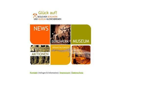 Vorschau von www.bergwerk-kleinenbremen.de, Besucher-Bergwerk Kleinenbremen GmbH