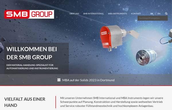 Vorschau von www.smb-group.de, SMB International GmbH