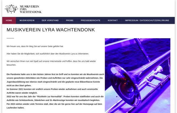 Vorschau von www.musikverein-lyra.de, Musikverein