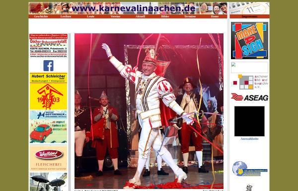 Vorschau von www.karnevalinaachen.de, Karneval in Aachen