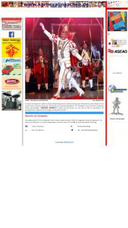 Vorschau der mobilen Webseite www.karnevalinaachen.de, Karneval in Aachen